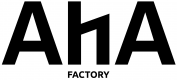AHA Factory Wordmark